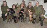 Från vänster: Mr Pat Cox, Tina Ingvarsson, Flemming Lorentzen, Mr Robin Laud