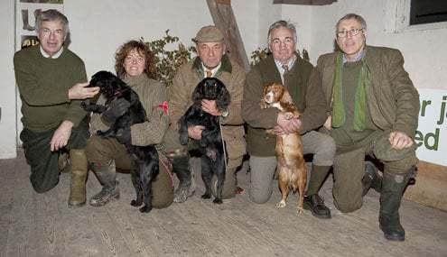 Från vänster: Mr Pat Cox, Tina Ingvarsson, Flemming Lorentzen, Mr Robin Laud & Mr Larry Taaffe