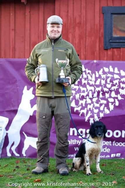 Vinnaren Henrik Hansen med DKFTCH SFTCH Flushmore Pepper